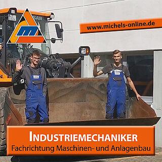 """Unsere neuen Azubis 2021 """"Industriemechaniker/-in, Fachrichtung Maschinen- und Anlagenbau"""""""