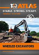 Atlas Mobile excavators