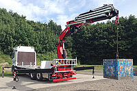 Fassi F545 in Aktion