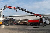 Fassi F365A.2.26 e-dynamic auf Daimler Arocs 2643LK 6x4 - in Aktion
