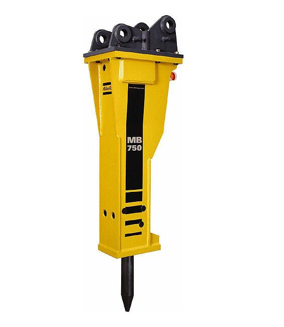 hydraulischer Abbauhammer Atlas Copco Vermietung