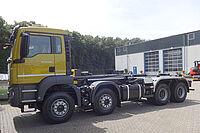 VDL Abrollkipper auf 4-Achser LKW