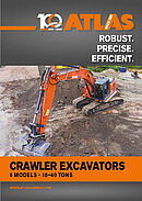 Atlas Crawler excavators