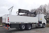 Sonderaufbauten Spezialfahrzeuge Baustoff Fahrzeug Hochlogistik
