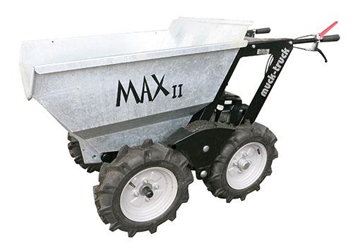 Dumper muck-truck Max II Vermietung